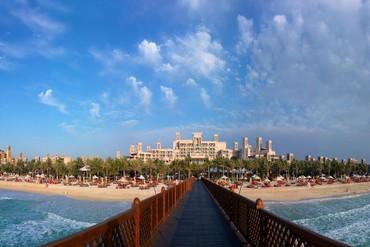"фото море, Отель ""Madinat Jumeirah Mina A Salam Hotel 5*"", Дубай"