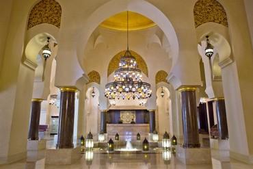 "фото Холл, Отель ""Iberotel Miramar Al Aqah Beach Resort"" 5*, Фуджейра"