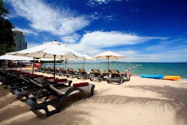 """фото пляж/море, Отель """"Centara Grand Mirage Beach"""" 5*, Паттайя"""