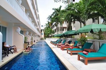 """фото Бассейн, Отель """"Baan Karonburi Resort"""" 3*, Пхукет"""