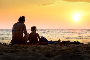 """фото пляж/море, Отель """"Naithonburi"""" 4*, Пхукет"""