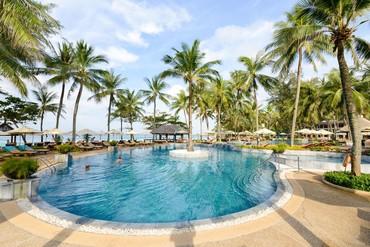 "фото Бассейн, Отель ""Kata Thani Phuket Beach Resort"" 5*, Пхукет"