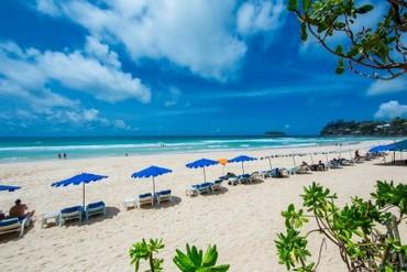 """фото Пляж, Отель """"Kata Thani Phuket Beach Resort"""" 5*, Пхукет"""