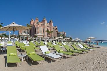 """фото Пляж, Отель """"Atlantis The Palm"""" 5*, Дубай"""