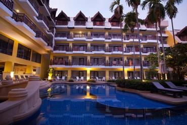 """фото бассейн, Отель """"Woraburi Phuket Resort"""" 3*, Пхукет"""