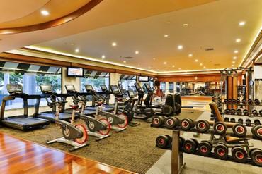 """фото тренажерный зал, Отель """"Le Meridien Phuket Beach Resort"""" 5*, Пхукет"""