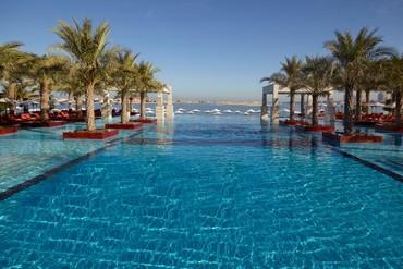 "фото Бассейн, Отель ""Jumeirah Zabeel Saray"" 5*, Дубай"