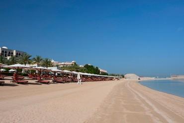 """фото Пляж, Отель """"Jumeirah Zabeel Saray"""" 5*, Дубай"""