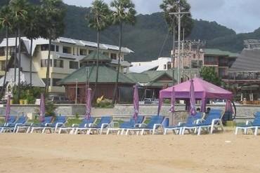 """фото Пляж, Отель """"Baan Karonburi Resort"""" 3*, Пхукет"""