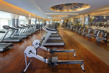"""фото Тренажерный зал, Отель """"Madinat Jumeirah Dar Al Masyaf Summerhouse 5*"""", Дубай"""