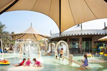"""фото Детский бассейн, Отель """"Madinat Jumeirah Dar Al Masyaf Summerhouse 5*"""", Дубай"""