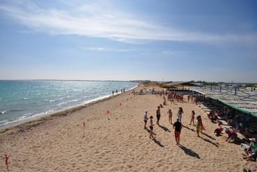 "фото Пляж, Санаторий ""Мечта"", Евпатория"