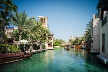 """фото Территория, Отель """"Madinat Jumeirah Dar Al Masyaf Summerhouse 5*"""", Дубай"""