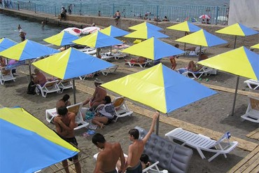 """фото пляж, Отель """"Гранд (Судак)"""", Судак"""