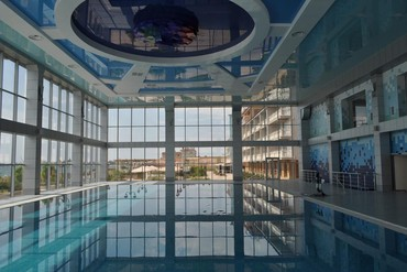 "фото Бассейн, Отель ""Ribera Resort & SPA"", Евпатория"