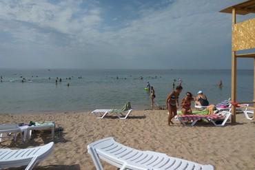 """фото Пляж, Санаторий """"Таврия"""", Евпатория"""