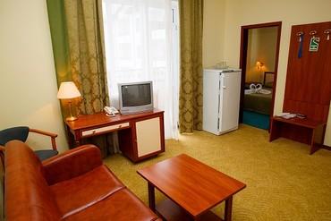 """фото Люкс Suite FV (вид на Генуэзскую крепость) 2-местный 2-х компантный, Отель """"Гранд (Судак)"""", Судак"""