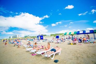 """фото пляж, Пансионат """"Славянка"""", Анапа"""