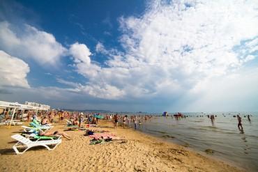 """фото пляж, Отель """"Ателика Гранд Меридиан"""", Анапа"""