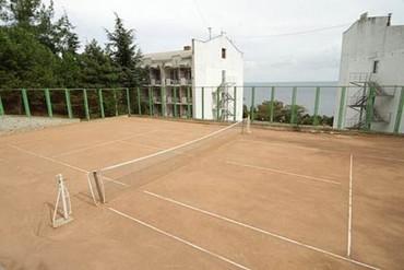 "фото Теннисный корт, Санаторий ""Утёс"", Алушта"