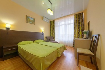 """фото Стандартный 2-местный 1-комнатный, Отель """"Ателика Гранд Меридиан"""", Анапа"""
