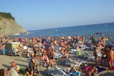 """фото Пляж, Гостиничный комплекс """"Альбатрос"""", Анапа"""