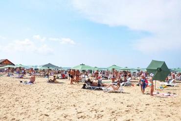"""фото пляж, Отель """"Дельфин Курортный отель"""", Анапа"""