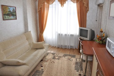 "фото Люкс 4-местный 3-комнатный, Санаторий ""Рябинушка"", Анапа"