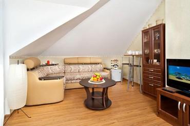 "фото Люкс 3-местный 2-комнатный, Отель ""Дюны Золотые (Анапа)"", Анапа"