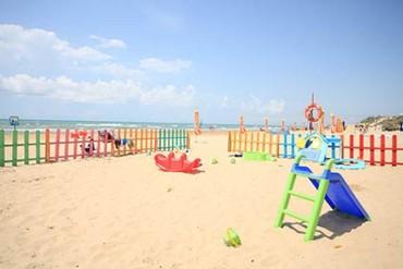 """фото пляж, Отель """"Белый песок"""", Анапа"""