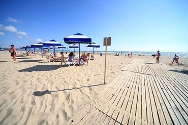 "фото Пляж, Санаторий ""Рябинушка"", Анапа"