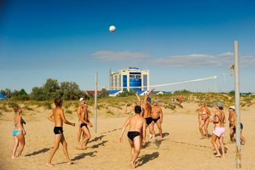"""фото Развлечение, Отель """"Белый песок"""", Анапа"""