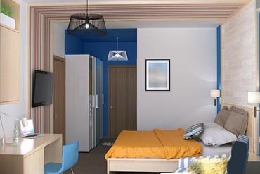 "фото Standart 2-местный Twin, Отель ""MoreLeto"", Анапа"