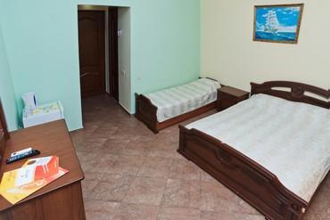 "фото Стандартный 3-местный без балкона 1 этаж, Пансионат ""Vityazevo Family"" (бывш. ДельКон), Анапа"