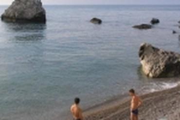 """фото Пляж, Санаторий """"Нижняя Ореанда"""", Ялта"""