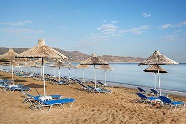 """фото Пляж, Отель """"Agapi Beach 4*"""", Крит"""
