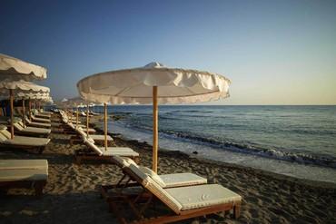 """фото Пляж, Отель """"Mitsis Laguna Resort 5*"""", Крит"""