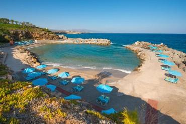 """фото Пляж, Отель """"Iberostar Creta Panorama 4*"""", Крит"""