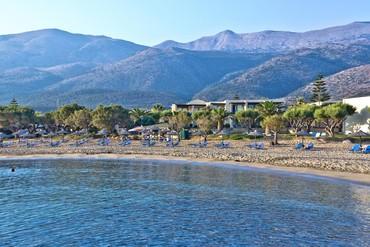 """фото Пляж, Отель """"Cretan Malia 4*"""", Крит"""