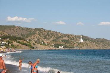 """фото Пляж, Вилла """"Арго"""", Алушта"""