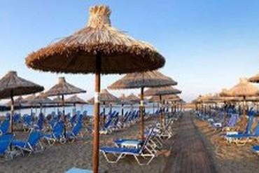 """фото Пляж, Отель """"Stella Village Hotel and Bungalows 4*"""", Крит"""