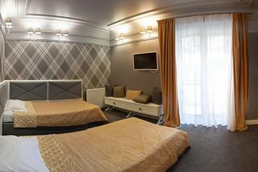 """фото Апартаменты 2-местный люкс """"Президентский"""", Отель """"Porto Mare"""", Алушта"""