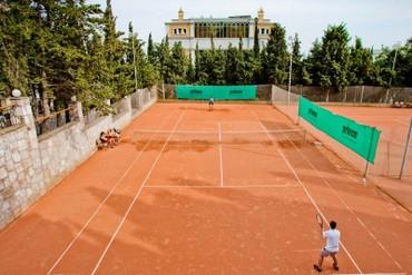 """фото Спортивная площадка, Отель """"Respect Hall"""", Ялта"""