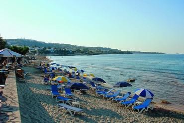"""фото пляж, Отель """"Albatros 4*"""", Крит"""