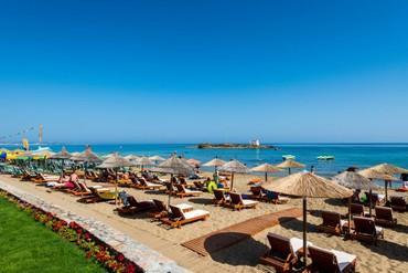"""фото пляж, море, Отель """"High Beach Hotel 4*"""", Крит"""