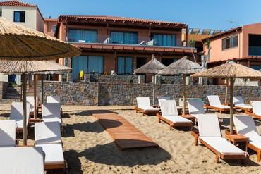 """фото пляж, Отель """"High Beach Hotel 4*"""", Крит"""