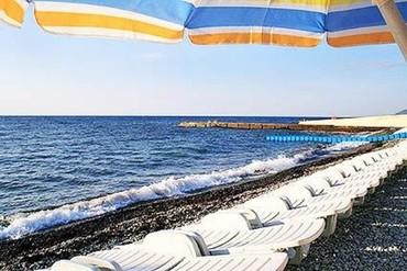 """фото Пляж, Курортный комплекс """"Golden (бывш. Золотой Колос)"""", Алушта"""