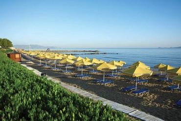 """фото пляж, море, Отель """"Mitsis Rinela Beach 5*"""", Крит"""