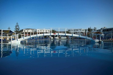 """фото бассейн, Отель """"Mitsis Rinela Beach 5*"""", Крит"""