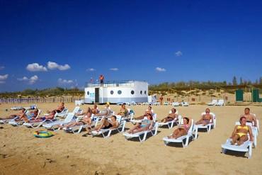"фото пляж, Санаторий ""Парус"", Анапа"